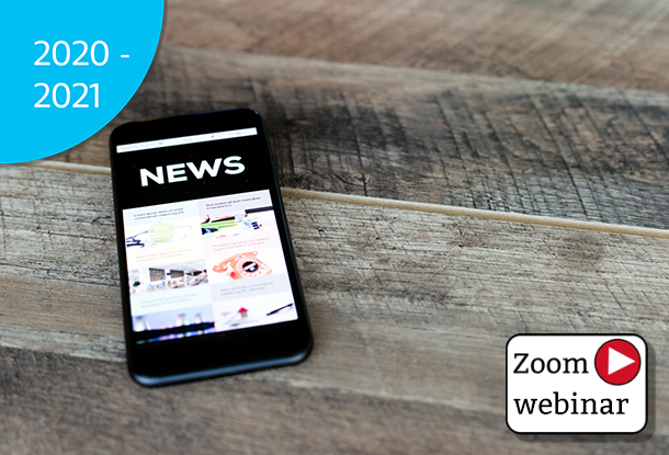 photo: cell phone with news displayed on screen (iStockphoto)