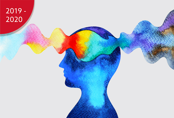 image: profile head with colourful waves (iStockphoto)