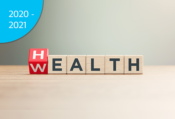 """image: blocks with the words """"Health"""" and """"Wealth"""" (iStockphoto)"""