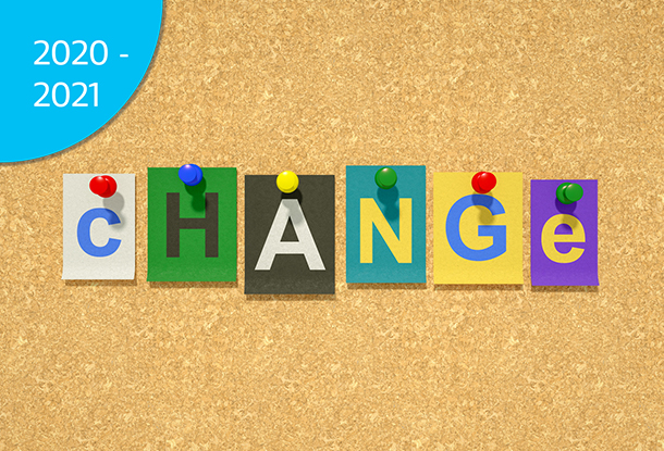 """image: cut out letters spell """"change"""" (iStockphoto)"""