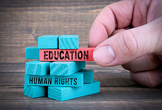 How do we bring human rights into the classroom?