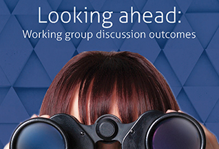 Looking ahead: Working group discussion outcomes