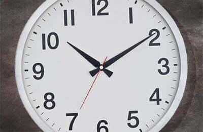 Clock (iStockphoto)