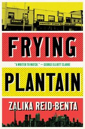 book cover for frying plantain