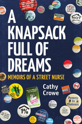 book cover for a knapsack full of dreams