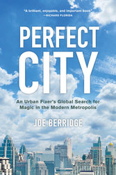 book cover for perfect city
